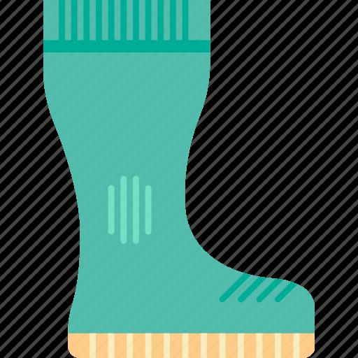 boot, garden, gardening, grow, plant, wellington icon