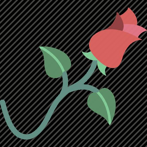 garden, gardening, grow, plant, rose icon