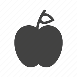apple, apples, food, fresh, healthy, leaf, red icon