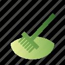 fertility, moisture, mulching, soil icon