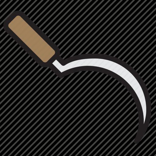 Blade, farming, gardening, tool icon - Download on Iconfinder