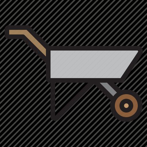 cart, farming, gardening, tool icon
