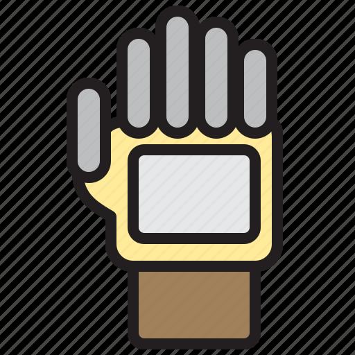 farming, gardening, glove, tool icon