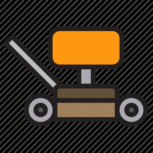 Farming, gardening, mower, tool icon - Download on Iconfinder