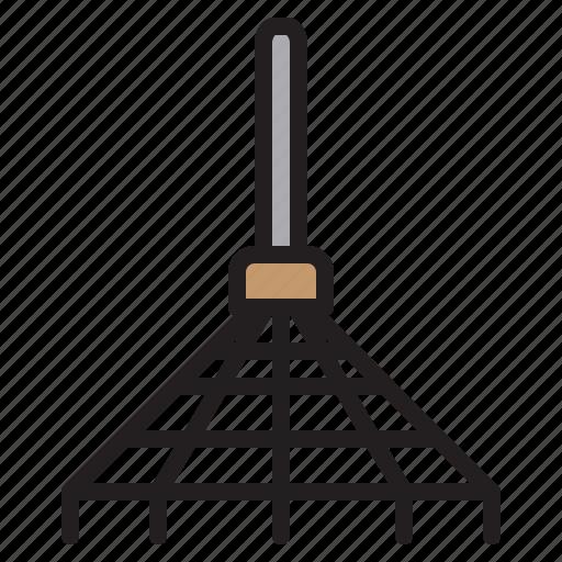 Farming, gardening, rake, tool icon - Download on Iconfinder