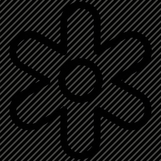 bloom, blossom, flower, petal flower, petals, plants icon