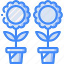 flowers, garden, gardening, grow, plant icon