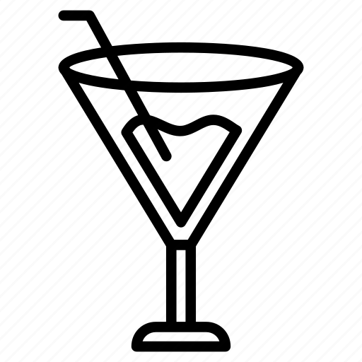 Drink, glass, juice, soda, straw icon - Download on Iconfinder