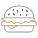 burger, eat, fastfood, food, meal icon