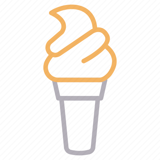 Cone, cream, delicious, ice, sweet icon - Download on Iconfinder
