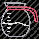 drink, jug, juice, kitchen, water icon
