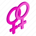 female, gay, isometric, lesbian, love, sex, sexual icon