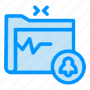document, folder, gdpr, safe icon