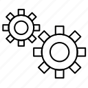 commission, engine, european, gdpr, gear, setting icon