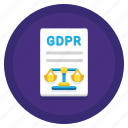 code, code of conduct, conduct, gdpr, scales