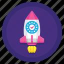 campaign, eu, gdpr, rocket icon