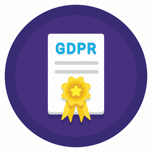 eu, gdpr, policy, regulations, rules icon