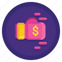 fee, fines, gdpr, penalty icon