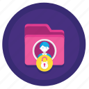 breach, data, gdpr, personal icon