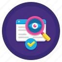 pia, impact, privacy, assessment icon
