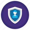 encryption, gdpr, protection, pseudonymisation, shield icon
