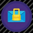 encrypted, gdpr, locked, message, secure