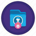 data, encryption, personal, protection, sensitive icon