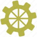 cog, cogwheel, engine, gear, settings icon