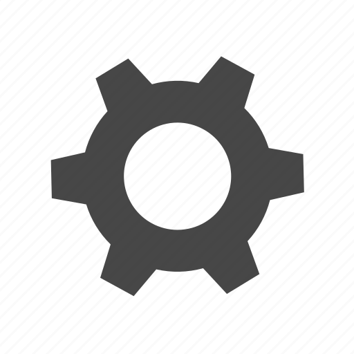 cogs, gear, menu, settings icon