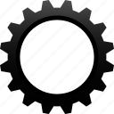 cog, cogwheel, engineering, gear, industrial, machine, mechanic icon