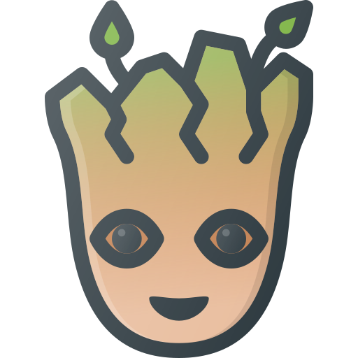 baby, galaxy, groot, guardians, marvel, movie, of icon