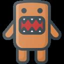 character, domo, kun icon