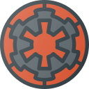empire, galactic, logo, sigil, star, wars icon