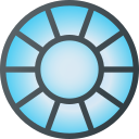 arc, avenger, iron, man, marvel, movie, reactor icon