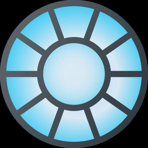 arc, avenger, iron, man, marvel, movie, reactor icon