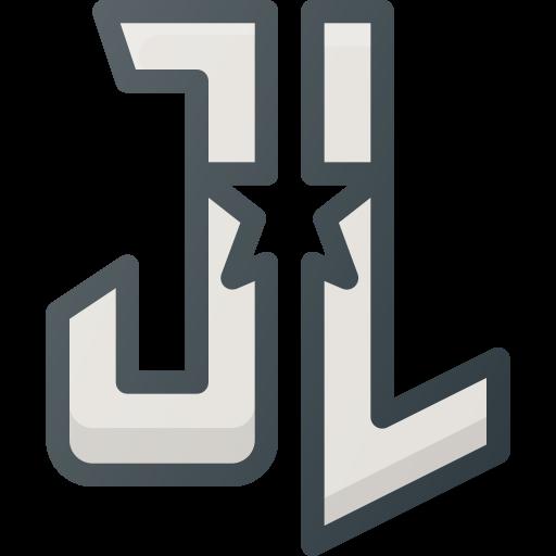 comic, dc, justice, league, logo, movie icon