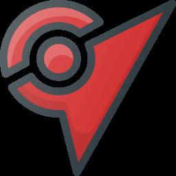 ar, augmented, game, gym, pokemon, reality, video icon