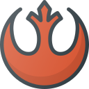 aliance, logo, rebel, sigil, star, wars icon