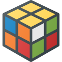 cube, geek, magic, rubics, toy icon