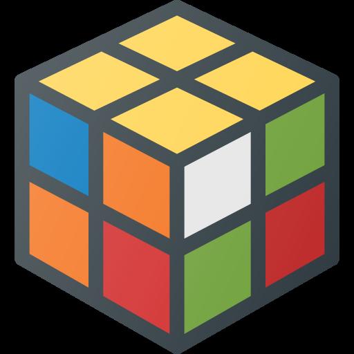 cube, geek, magic, rubics, toy icon