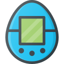game, retro, tamagotchi, toy, video icon