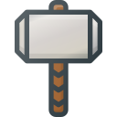 comic, hammer, marvel, movie, thors icon