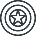 america, avengers, captain, marvel, movie, shield icon