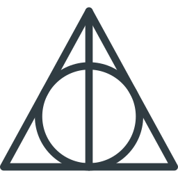 deathly, hallows, harry, magic, movie, potter, rune icon