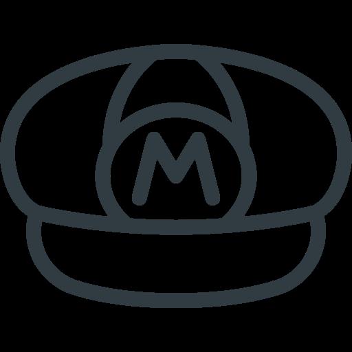 Game, hat, mario, retro, super, video icon - Free download