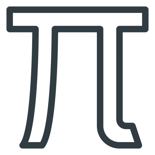 math, mathematics, pi icon