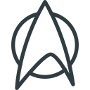 geek, logo, movie, star, trek icon