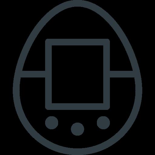 game, retro, tamagotchi, toy, video icon