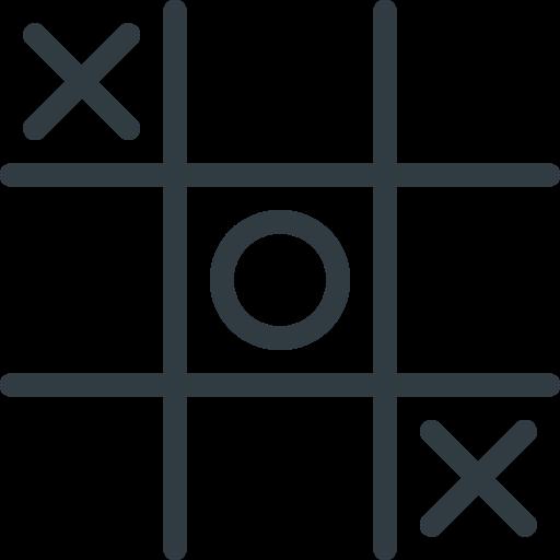 tac, tic, toe icon