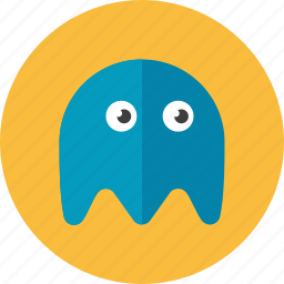 ghost, pacman icon